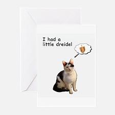 dreidelcard Greeting Cards
