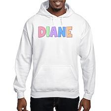 Diane Rainbow Pastel Hoodie Sweatshirt