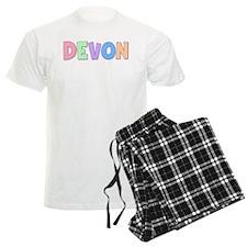 Devon Rainbow Pastel Pajamas