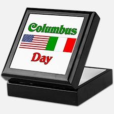 Columbus Day Keepsake Box