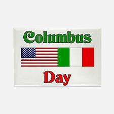 Columbus Day Rectangle Magnet