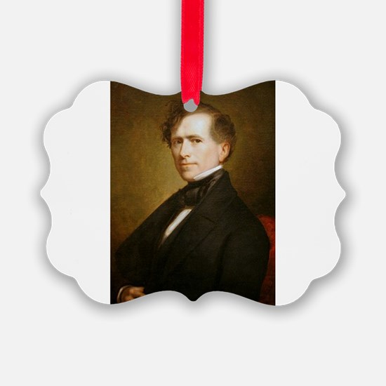 Cute Franklin pierce Ornament