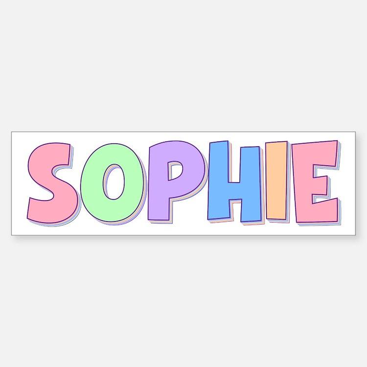 sophie name logo pastel - photo #6