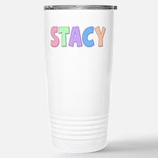Stacy Rainbow Pastel Travel Mug