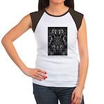 In Space Between Women's Cap Sleeve T-Shirt