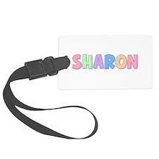 Sharon Rainbow Pastel Luggage Tag