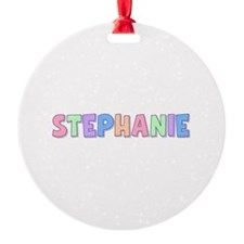 Stephanie Rainbow Pastel Ornament