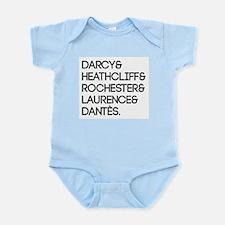 Literary Men Infant Bodysuit