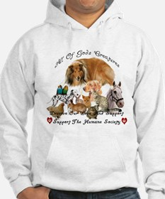 Unique Support animal shelters Hoodie