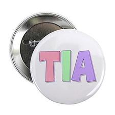 Tia Rainbow Pastel Button