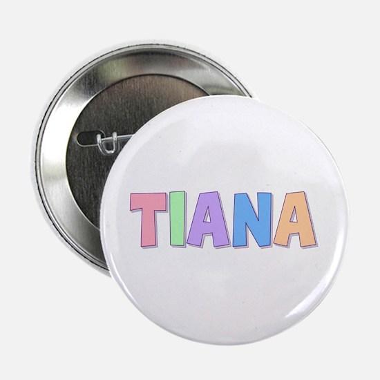 Tiana Rainbow Pastel Button