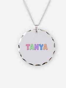 Tanya Rainbow Pastel Necklace