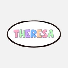 Theresa Rainbow Pastel Patch