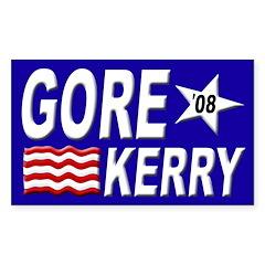 Gore-Kerry in 2008 (election bumper sticker)