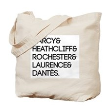 Literary Men Tote Bag