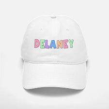 Delaney Rainbow Pastel Baseball Baseball Cap
