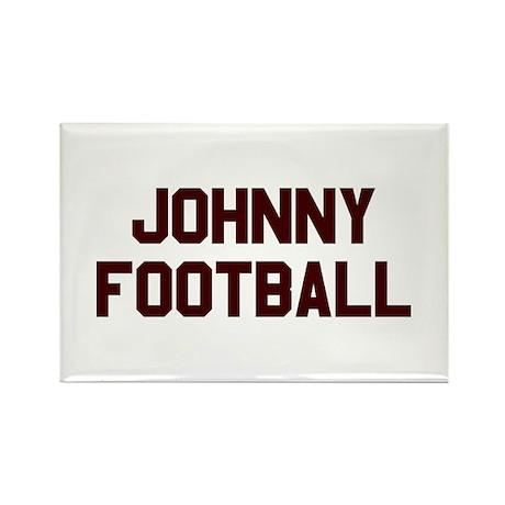 Johnny Football Rectangle Magnet