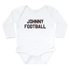 Johnny Football Long Sleeve Infant Bodysuit