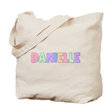 Danielle Rainbow Pastel Tote Bag