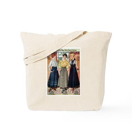 1916 New York Skirts Tote Bag