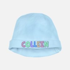 Colleen Rainbow Pastel baby hat