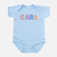Ciara Rainbow Pastel Infant Bodysuit