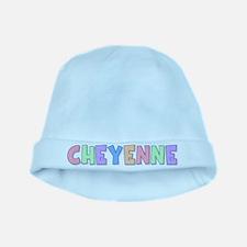Cheyenne Rainbow Pastel baby hat
