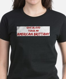 Tease aAmerican Brittany T-Shirt