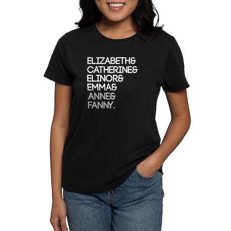 Austen Heroines Women's Dark T-Shirt