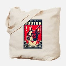 Cute Boston terrier Tote Bag