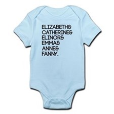 Austen Heroines Infant Bodysuit