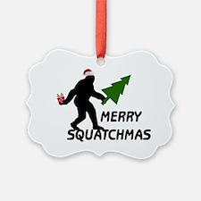 Merry Squatchmas Ornament