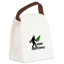 Merry Squatchmas Canvas Lunch Bag
