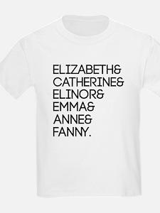Austen Heroines T-Shirt