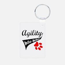 Agility Tail Keychains