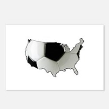 American Soccer Postcards (Package of 8)