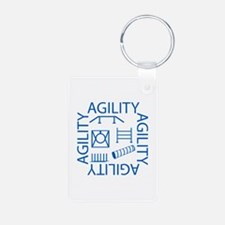 Agility Square Keychains
