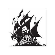 Pirate Bay Sticky Ship Sticker