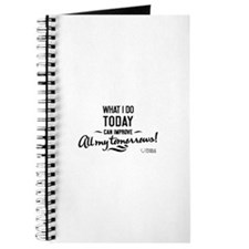 What I Do Today Journal