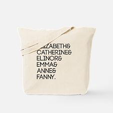 Austen Heroines Tote Bag
