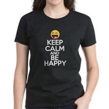 Keep Calm and Be Happy Tee