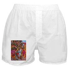 pitbull christmas card.jpg Boxer Shorts