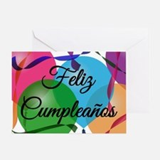 Feliz Cumpleanos - Happy Birthday - Greeting Card