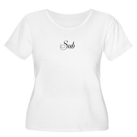 Sub - Women's Plus Size Scoop Neck T-Shirt