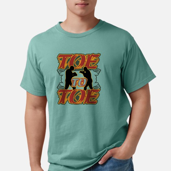Toe to Toe.png Mens Comfort Colors Shirt