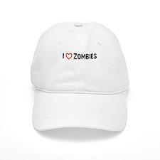 I <3 Zombies! Baseball Cap