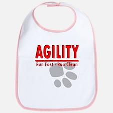 Agility Run Fast Bib