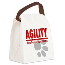 Agility Run Fast Canvas Lunch Bag