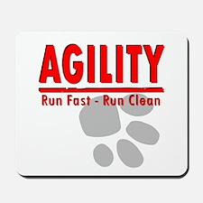 Agility Run Fast Mousepad