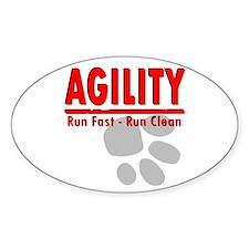 Agility Run Fast Decal